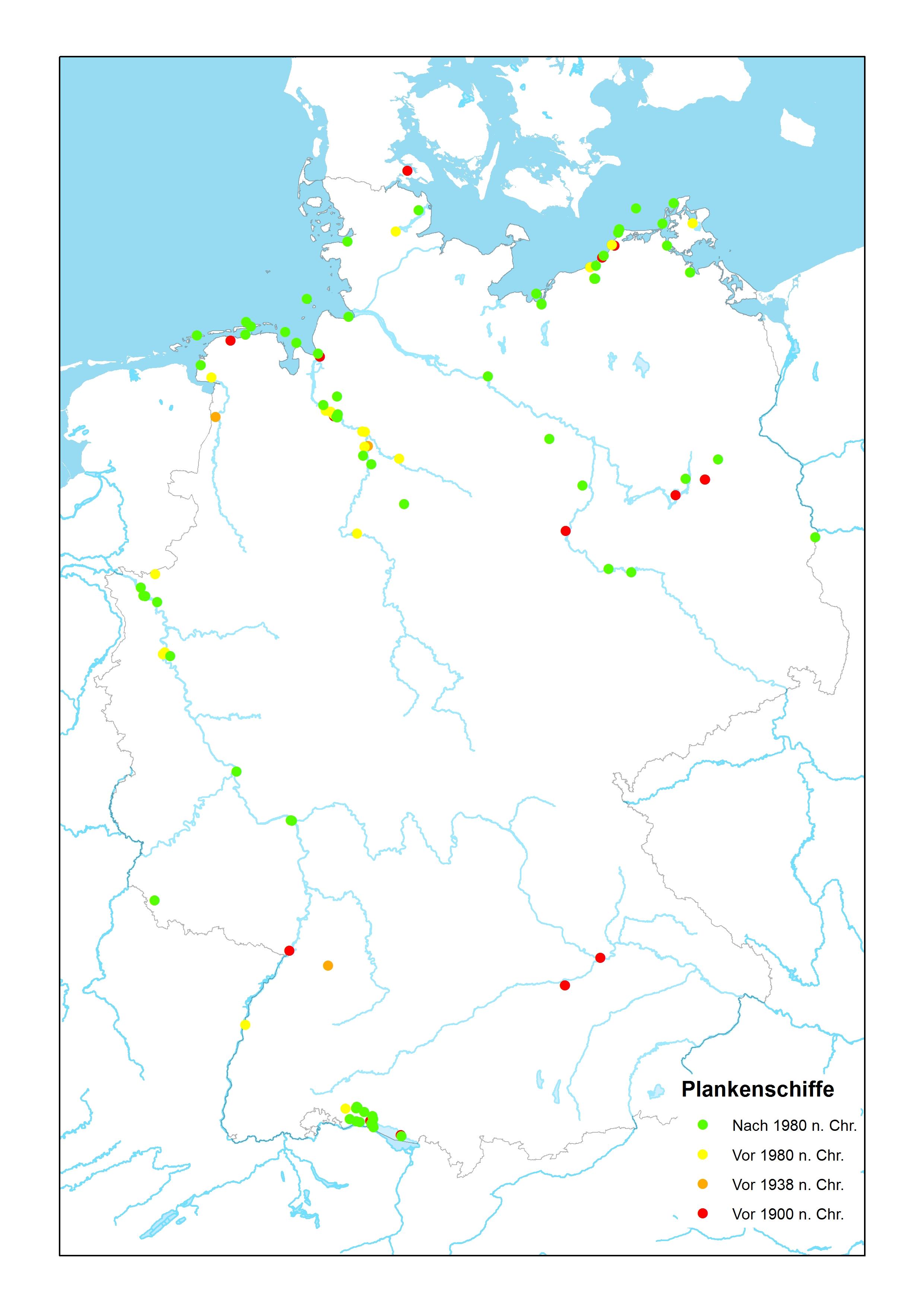 Katalog der Schiffsfunde in Deutschland - aus archäologischer Sicht